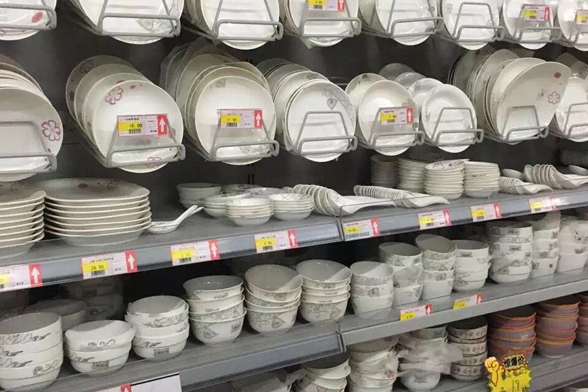 超市多层货架