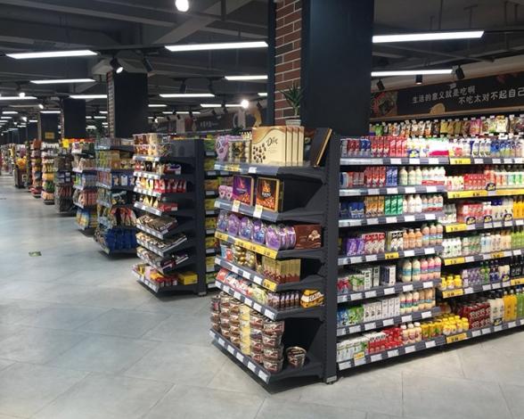 河南超市货架磨砂黑