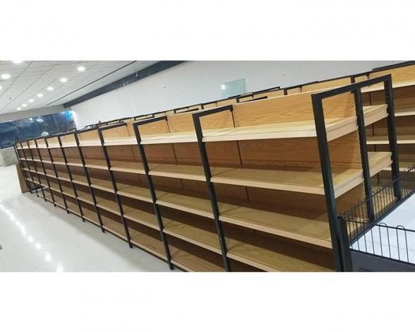 河南郑州钢木货架超市