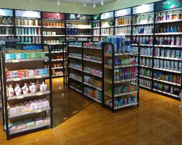 高档超市化妆品货架
