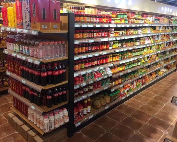郑州木纹超市货架