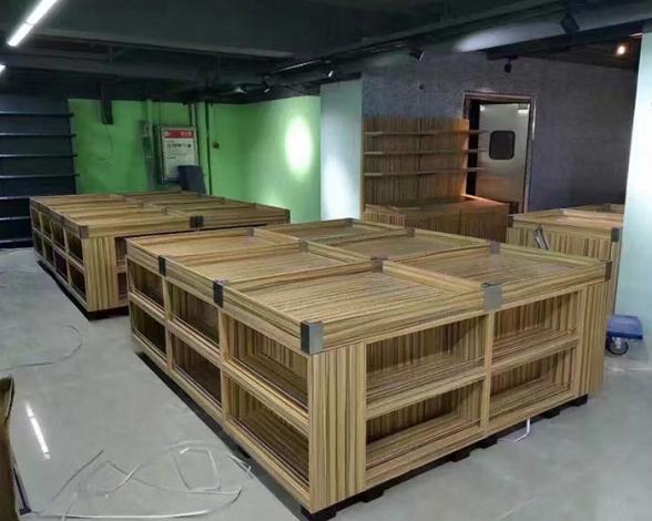 高档木质货架批发