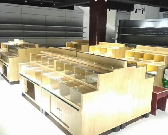 木质货架散称货品展示架
