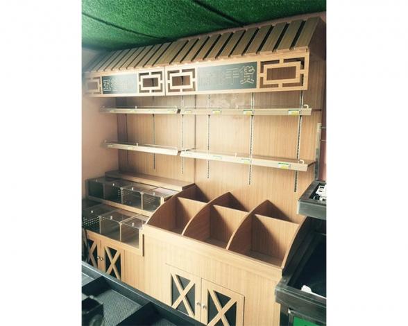 木质货架散货展示架