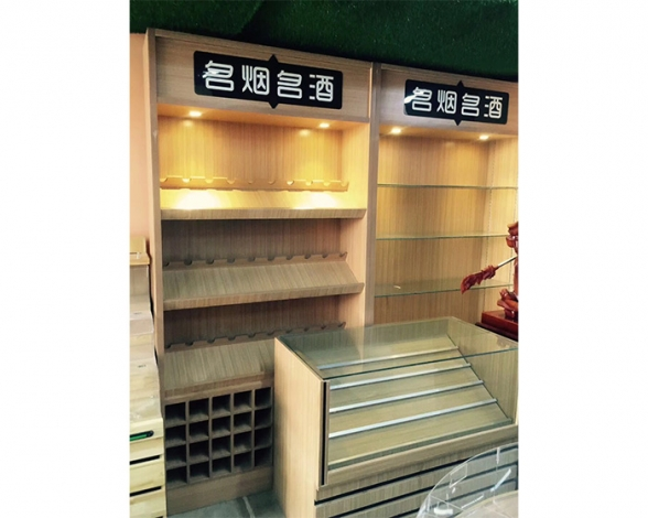 郑州高档木质烟酒柜