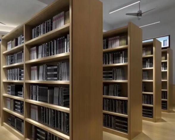 郑州木质图书店货架