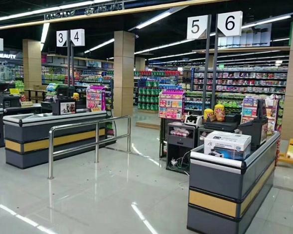 郑州高档大型商场超市收银台