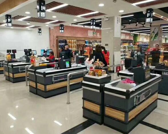 河南郑州超市收银台