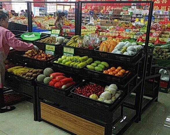 果蔬货架展示架